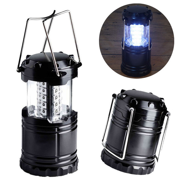 supper bright outdoor lighting 30 led camping light collapsible tent lanterns for hiking camping bright outdoor lighting