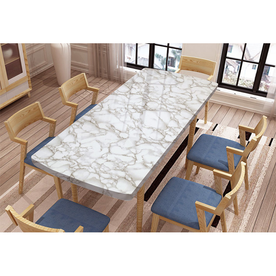 - PVC Vinyl Marble Contact Paper For Countertops Self Adhesive