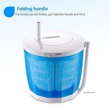 Мини-Одежда ручной работы стиральная машина для дома/общежития стиральная машина ручная стирка обезвоживание цельная Стиральная машина 1 шт