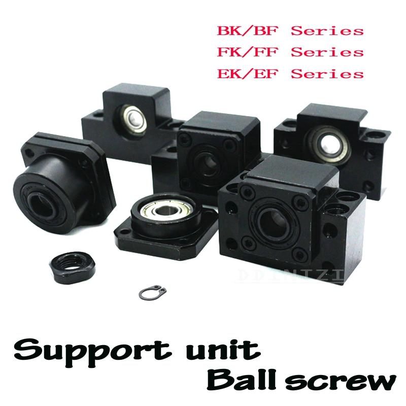 NOUVEAU BK10 BF10 BK12 BF12 BK15 BF15 FK10 FF10 FK12 FF12 FK15 FF15 EK10 EF10 EK12 EF12 unité d'appui à vis à billes SFU1605 SFU1204