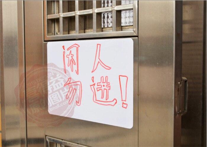 Schautafeln Liberal 20 Stücke Whiteboard Schreibtafel Magnetschreibtafel Kühlschrank Writing Board Removable Whiteboard Dekoration Nachricht Bord Office & School Supplies