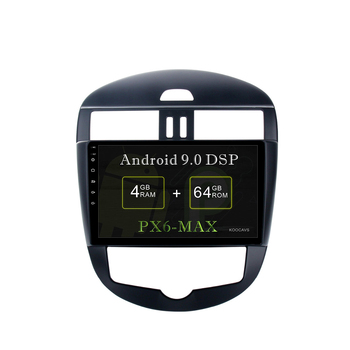 "KOOCAVS 9"" IPS Android 9.0 Car GPS Radio Player for Nissan Tiida Radio 2011 2012 2013 2014  with 4GB+64G Multimedia"