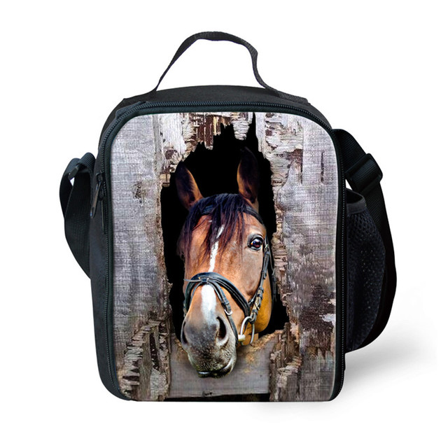 FORUDESIGNS New Fashion Lancheira Lunch Bag Casual Portable Insulated Lunch Picnic Bag for Women Cute Animal Lunch Bolsa Termica