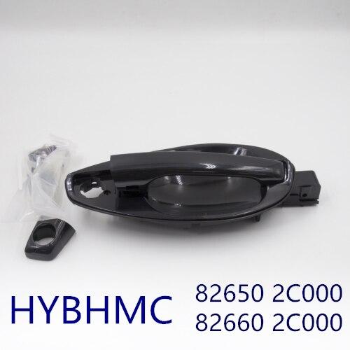 Подлинная наружная дверная ручка Catch Неокрашенная для HYUNDAI Tiburon Coupe 2003-2008 826502C000 826602C000