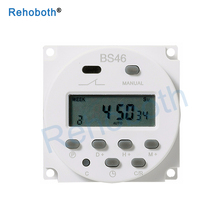 CN101A 220V 230V 240V Digital LCD Power Timer weekly 7days Programmable Time Switch Relay TIMER 10A CN101 mini clock light timer