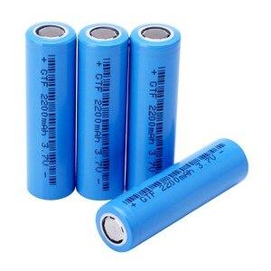 Image 5 - 20PCS 3.7V 2200mAh Original 18650 rechargeable li ion Battery For Flashlight electronic cigarette Power battery batteries