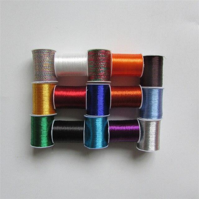 DIY ручна швейна матеріал металу, вишивка нитка швейна машина нитка 15 вигляд колір вибрати 20 шт./1 коробка оптові продажі
