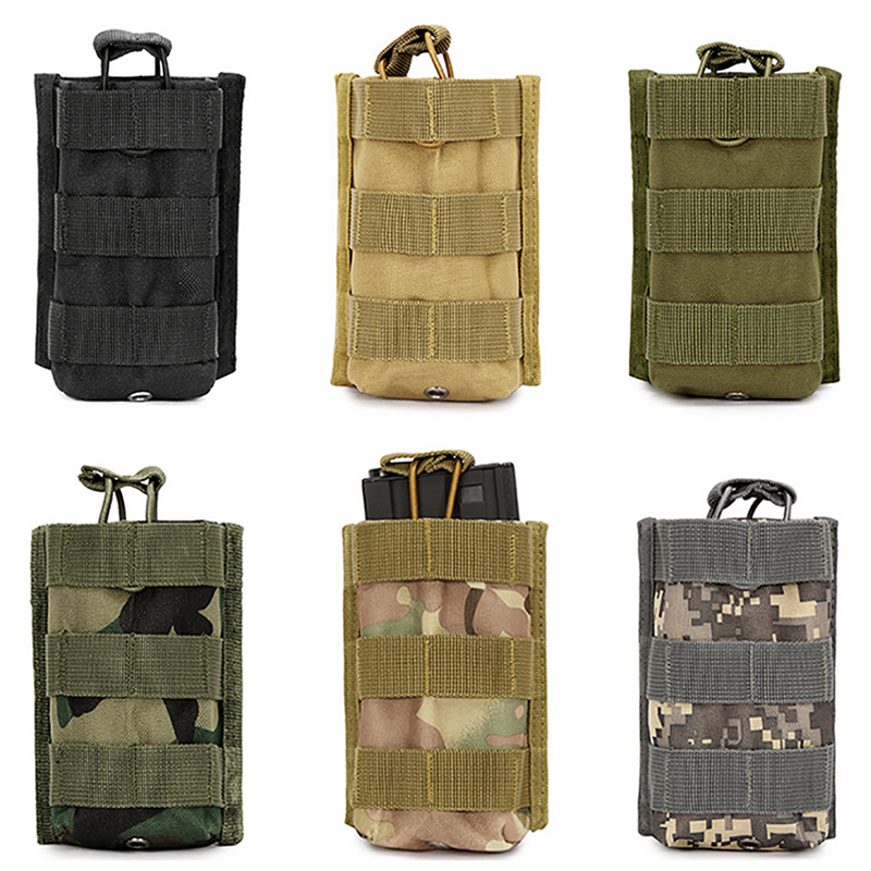 Deportes Colgante Paquete para M4 M16 Bolsa Bolsas de Revistas Rifle Mag Walkie