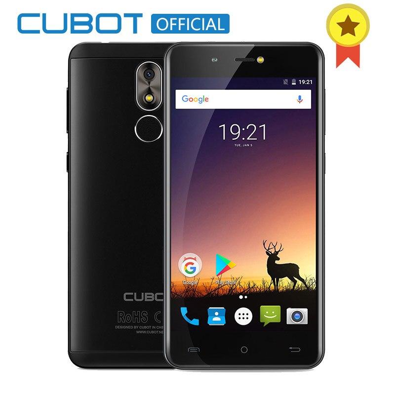 Cubot R9 Quad Core MT6580 Android 7.0 Fingerprint 2GB RAM 16GB ROM Smartphone 5.0 Inch 1280x720 HD Screen 13.0MP Camera Celular
