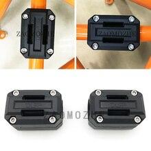 For KTM DUKE200  DUKE300 DUKE690 Engine Protection Bumper Decorative Block Dismantling Installation 22mm 25mm 28mm Diameter