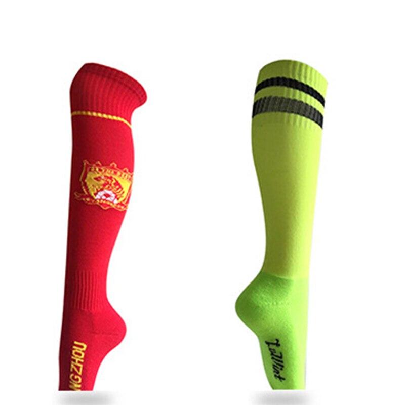 Высокое качество Футбол Нескользящие Футбол носки мужские спортивные Носки для девочек длинные полотенце Носки для девочек Баскетбол Вело... ...
