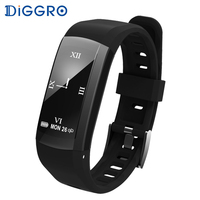 Diggro S906 GPS Smart Bracelet Professional IP68 Waterproof Fitness Wristband Dynamic Heart Rate Smart Band Tracker Watch