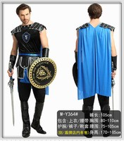 Adult Halloween Male Roman Warrior Cosplay Costume Roman Gladiator Costume Mens Roman Soldier Costume Fancy Dress Party Outfit
