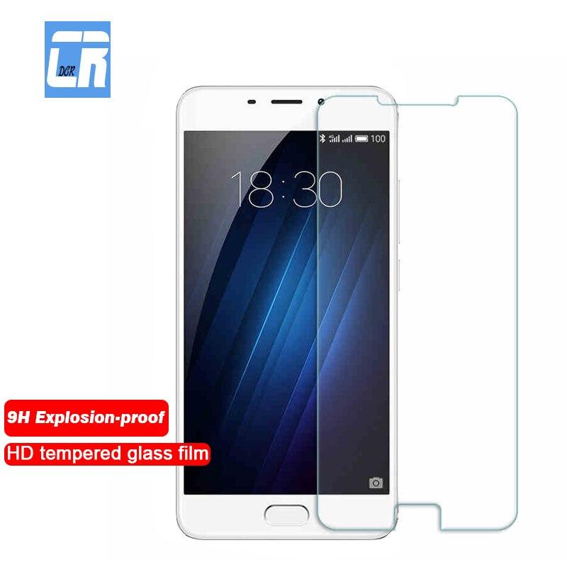 9H Premium verre trempé pour Meizu U10 U20 M3S M5S MX4 MX5 MX6 Pro 5 6 7 protecteur d'écran pour Meizu M3 M5 Note Film de protection