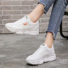 New Sports Thick-Soled Fashion Air-Permeable High-Quality Women Leisure Shoeszapatos de mujer обувь женская sapato feminino(China)