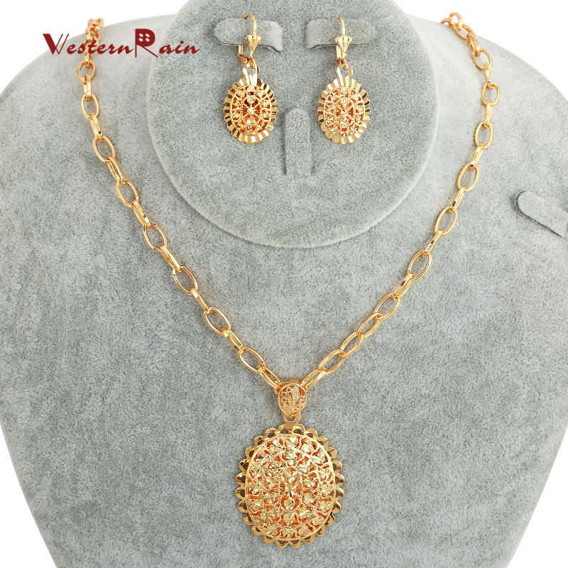 WesternRain 2015 Gold Plated 18k New design jewelry, Charming ...