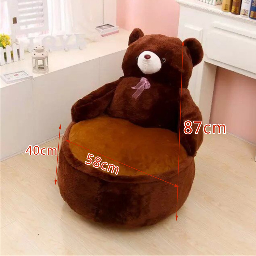 Remarkable Us 56 35 22 Off Fancytrader Pop Anime Teddy Bear Chair Toys Huge Stuffed Soft Animals Bears Sofa Cushion For Kids Adults 7 Colors 2 Sizes In Stuffed Pabps2019 Chair Design Images Pabps2019Com