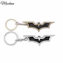MQCHUN Batman Metal Keychains DC Comics Superhero Marvel Key Chains For Men Metal Key Holder Ring For Friends Llaveros Boys Gift