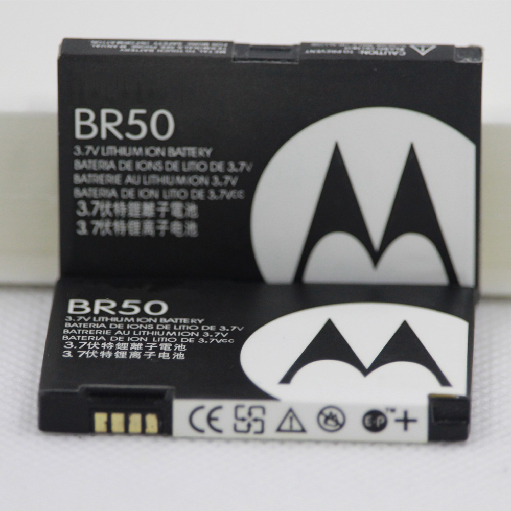 710 mAh Bateria Para Motorola Razr BR50 V3 V3c V3E V3i V3m V3r V3t V3Z Pebl U6 Prolife 300 500 BR50 Bateria Do Telefone Móvel