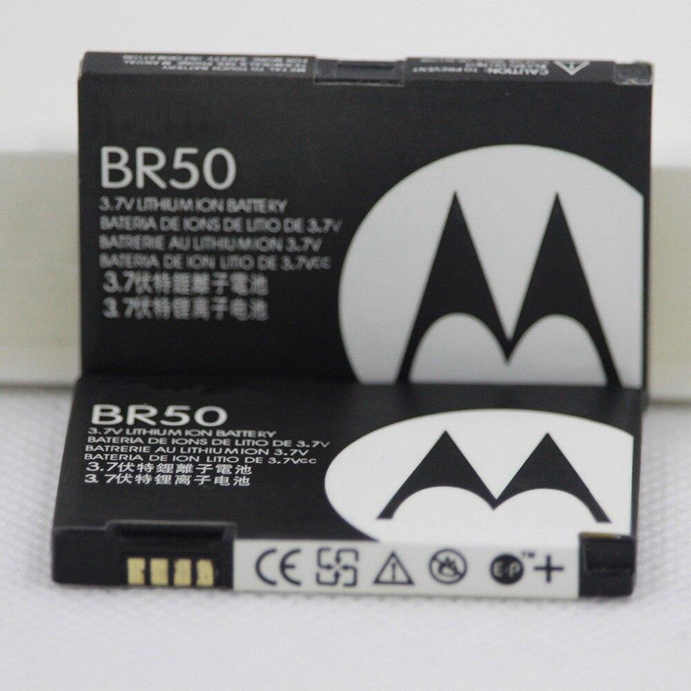 710mAh BR50 Batterie Pour Motorola Razr V3 V3c V3E V3i V3m V3r V3t V3Z Pebl U6 Prolife 300 500 BR50 Batterie De Téléphone Portable