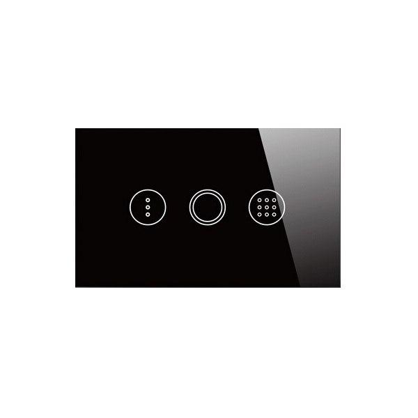 EE.UU. Standard 1 Gang Táctil interruptor de La Luz Interruptor Temporizador Int
