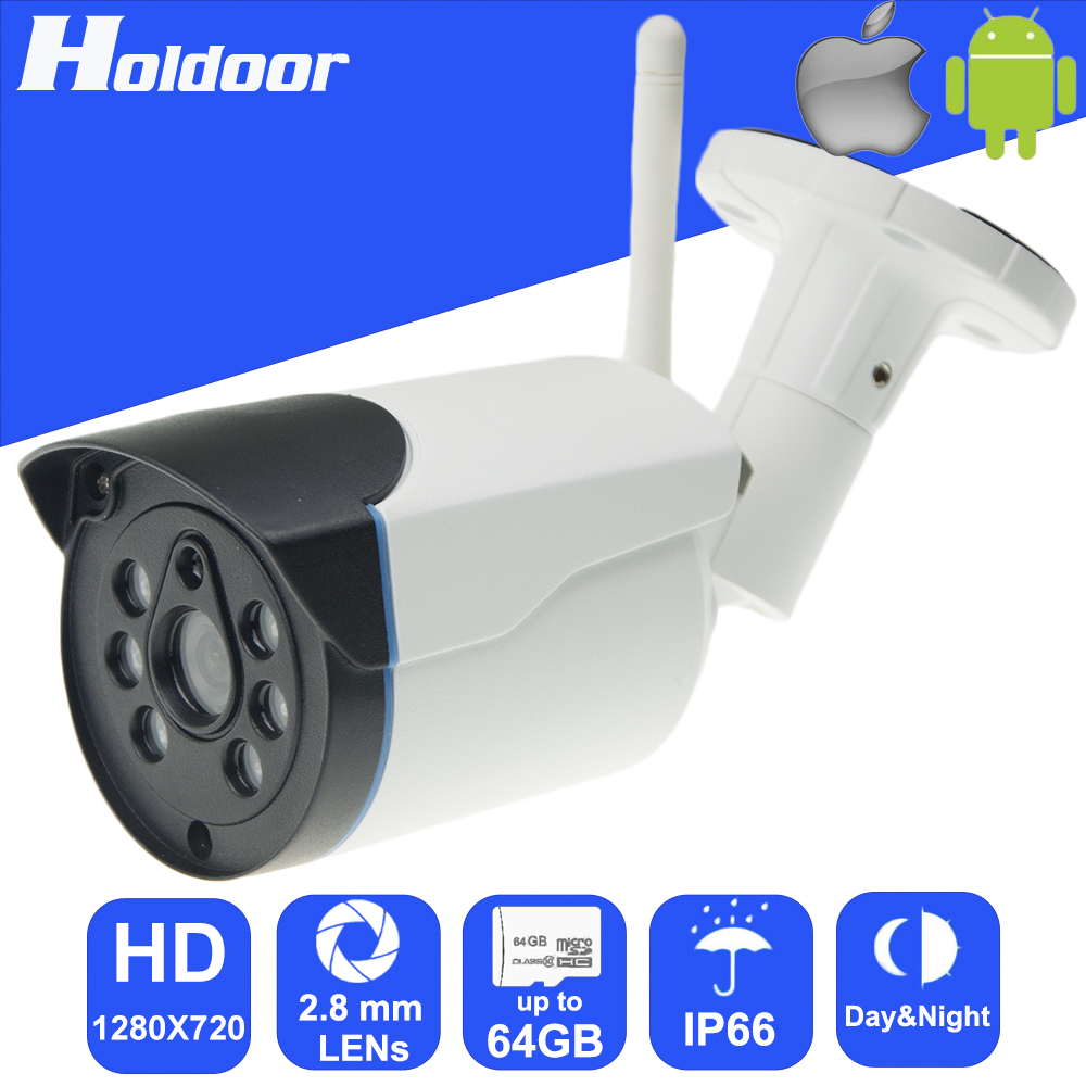IP Video Surveillance 720P HD Mini Camera P2P Onvif IR Camcorder with micor sd card slot CCTV Cameras for Andriod and iOS free shipping walkera dv04 video camera for mini sd card fpv hd camera first person view