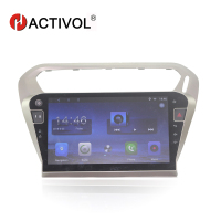 HACTIVOL 10.2 Quad core car radio gps navigation for Peugeot 301 android 7.0 car DVD video player with 1G RAM 16G ROM