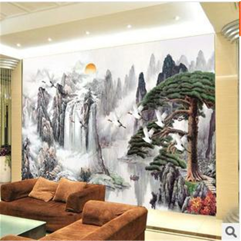 beibehang Large wall mural wallpaper TV backdrop for office and