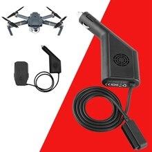 MLLSE черный Мощность Выход быстро Батарея зарядка, автомобильное зарядное устройство для DJI Mavic Pro Drone TY0729
