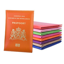 Кожа + Нидерланды + Паспорт + Обложка + Держатель + Сумка + для + Голландии + Голландии + Идентификация + Чехол + Путешествия + Кошелек + Мужчины + Женщины + Люкс + Бренд