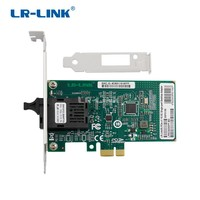 LR LINK 6230PF BD gigabit ethernet BIDI network adapter pci express lan card desktop for pc computer 1000Mb Intel I210 Nic