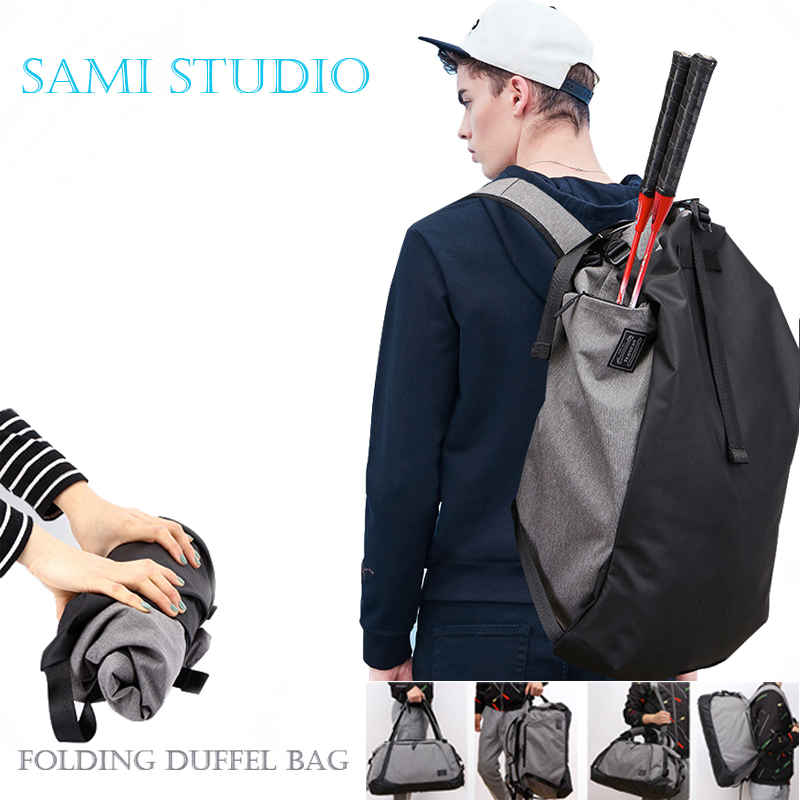 Men Travel Bag Waterproof Nylon Shoulder Travelling Bag Protable Folding Duffel Bag Casual luggage bag Tote