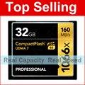 160 МБ/с. Марка 1066x32 ГБ UDMA CF Карты 7 VPG-65 PRO CompactFlash Карты памяти Для Цифровых DSLR Камеры HD Видеокамера DV CF Устройства