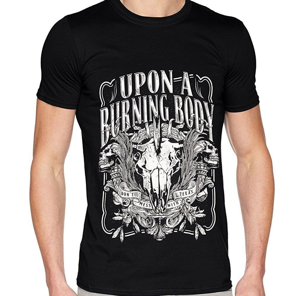 2018 Latest Fashion Upon A Burning Body Texas T Shirt Size S M L New & Official Print Summer Tops Tees