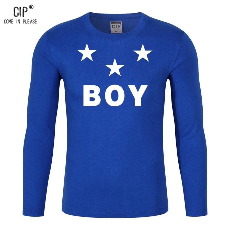 e07988adf30 Cip 100% хлопок GD Star Футболка для мальчиков рубашка с длинными рукавами  модные Корейский стиль модная детская одежда для мальчиков cl130