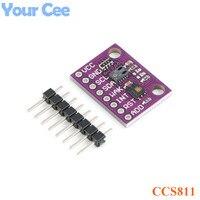 HDC1080 CCS811 Угарный газ CO2 VOCs качество воздуха цифровой газа Температура Влажность сенсор модуль электронный DIY для Arduino
