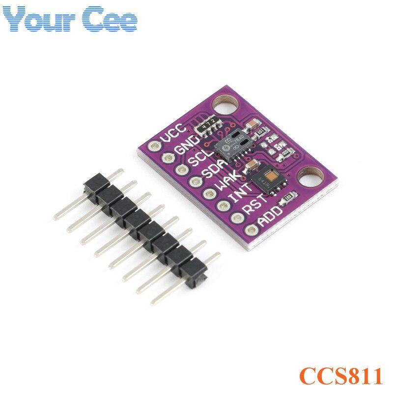 HDC1080 CCS811 Kohlenmonoxid CO2 VOCs Air Qualität Numerische Gas Temperatur Feuchtigkeit Sensor Modul Elektronische DIY Für Arduino