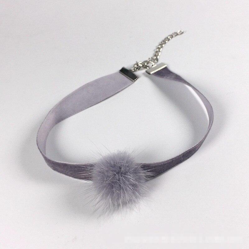 HTB1jjIpNVXXXXbcaXXXq6xXFXXXa Trendy Girl Choker Necklace With Fur Pendant