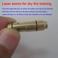 9mm Laser Ammo,Laser Bullet, Laser Ammo, Trainer Pistol Laser Cartridge for Dry Fire, for Shooting Training
