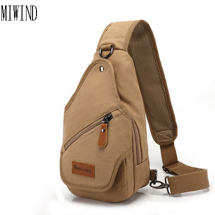 MIWIND2017 Special Offer Polyester Crossbody Bags Chest Canvas Water Proof Handbags Casual Bag Single Shoulder Strap Pack TMK410