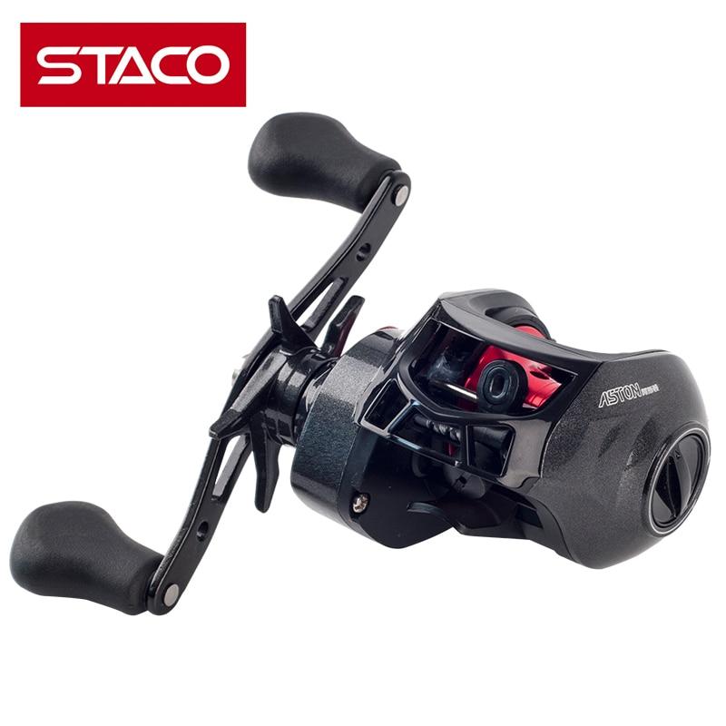 STACO 17 + 1 BB Водонепроницаемый влево/правая рука Baitcasting Рыболовная катушка магнитного тормоза и один способ Системы 7,1: 1 ловли карпа ...