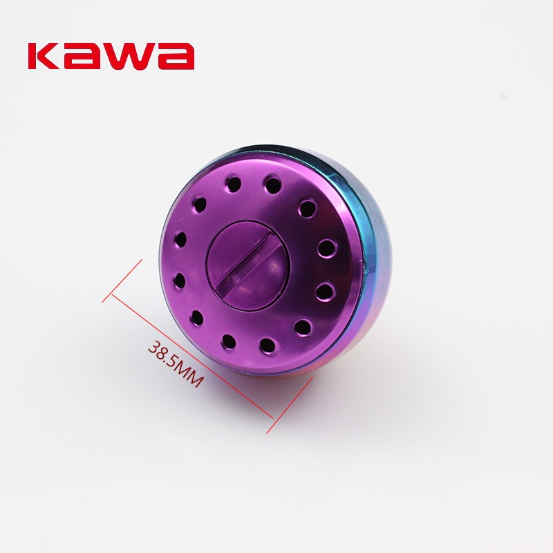 Kawa New Fishing Reel Knob For Spinning Reel 3000-5000 Type, Rainbow Color Fishing Reel Accessory, Free shipping