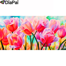 DIAPAI 100% Full Square/Round Drill 5D DIY Diamond Painting Flower landscape Diamond Embroidery Cross Stitch 3D Decor A19618 diapai 100% full square round drill 5d diy diamond painting flower landscape diamond embroidery cross stitch 3d decor a21095