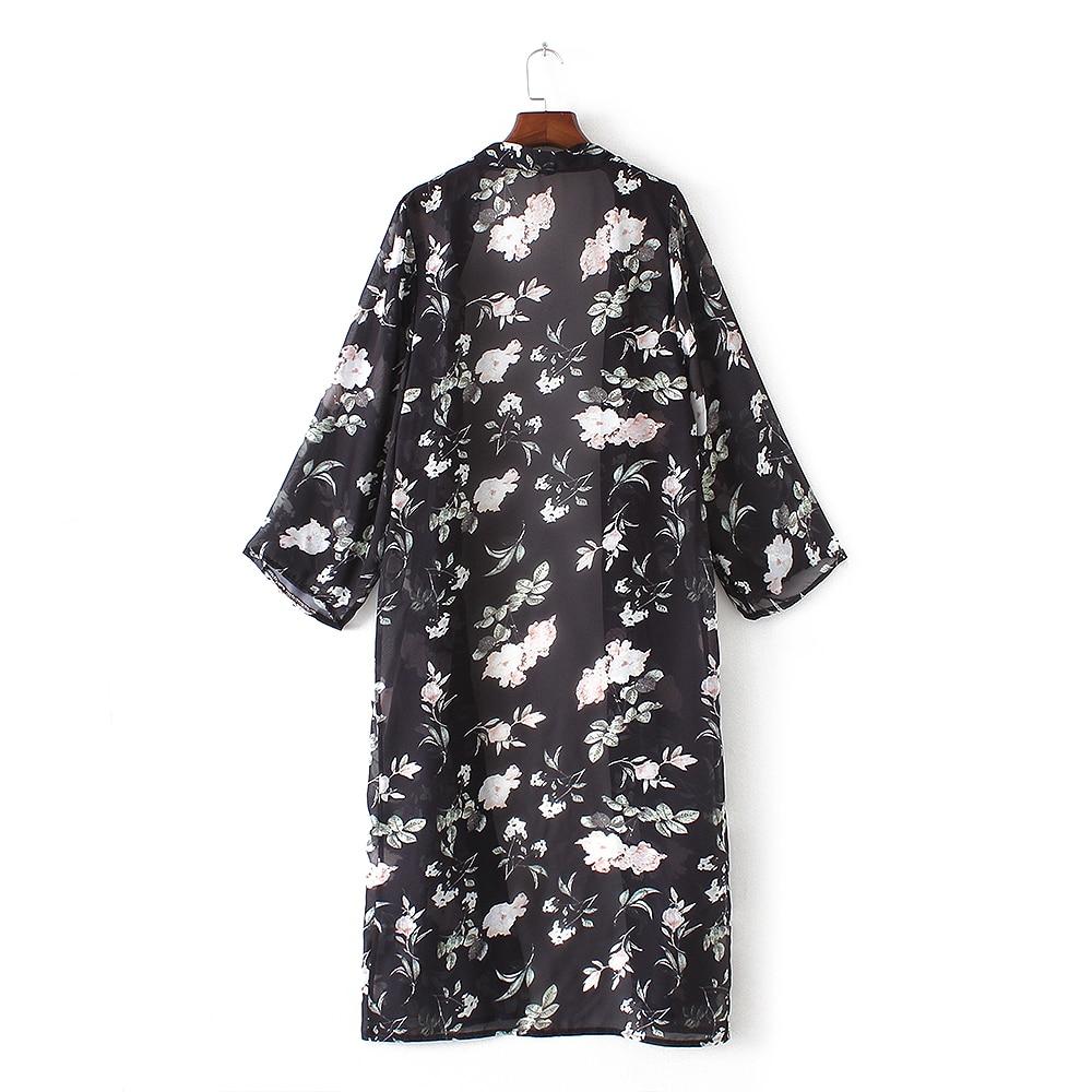 Naiste pikkade varrukatega kimono / kardigan 4