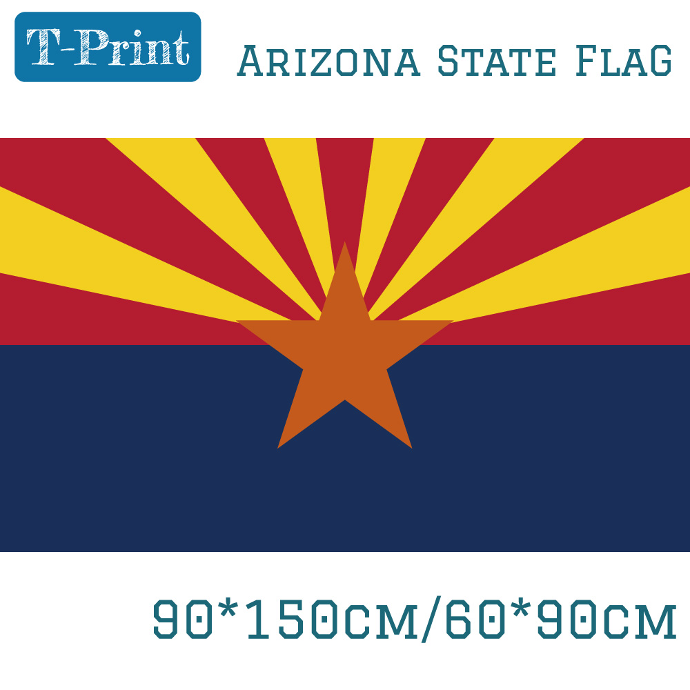 US $3 91 |USA Flag of Arizona State 3x5 Feet 90*150cm 60*90cm Flag America  For Campaign Vote-in Flags, Banners & Accessories from Home & Garden on