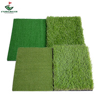 Double Color 64*40cm Rubber bottom golf mat
