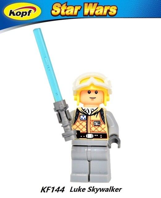 KF908 Tauntaun Han Solo Luke Skywalker Star Wars Building Blocks Model Bricks Actoin Toys for children Gift PG670