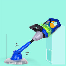 Kids Simulation Pretend Toy Electric Vacuum Cleaner Chainsaw Weeder Childrens Play House Toys