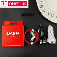 Dual fast Usb Quick Car charger oneplus 6 Dash charge usb car charger 3.1 type c cable 100cm for huawei LG one plus 5t 5 3t 3 аксессуар oneplus dash charge usb type c 1 0m red 0202003201