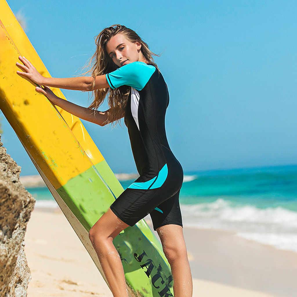 Perimedes Vrouwen Wetsuit Stretch Duikpak Snorkelen Lange Mouw Mannen Wetsuit Voorkomen UV Bescherming slim Surfen Jumpsui # g45